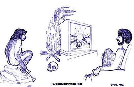 Fascination with fire